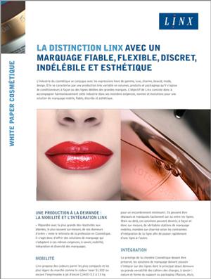 Linx Publication Cosmetique